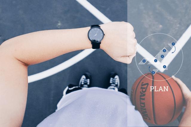 Digitalisierung im Sport Plan